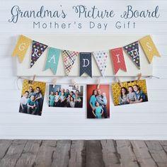 Grandma's Picture Board - The Happy Scraps