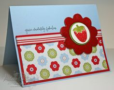 Stampin Up Projects | Stampin' Up! Project Ideas - Andrea Walford, Sunny Stampin' Blog ...