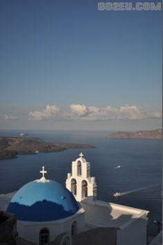 honeymoon destination, Santorini