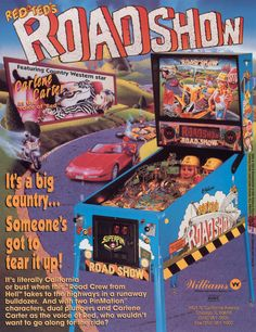 Road Show (1994 Williams) - Played 30/12/14 at New Year Robot Bash, Broadstone, UK