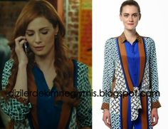 Medcezir - Ender (Mine Tugay), Multi-color Shirt