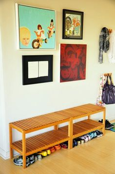 IKEA Molger Bench Ideas Hacks | It's a versatile workhorse you can use almost anywhere.