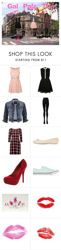 """""""Gal Palz Trio - World Tour: Argentina"""" by hannahbrown-i ❤ liked on Polyvore featuring Glamorous, Mela Loves London, maurices, Boohoo, Topshop, Delicious, Converse, DIVA, Dahlia and Disney"""