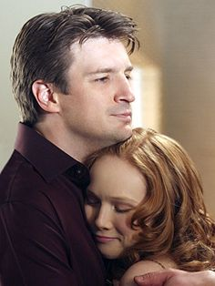 Nathan Fillion as Richard Castle and Molly Quinn as Alexis - Castle Castle 2009, Castle Abc, Castle Tv Series, Castle Tv Shows, Molly Quinn, Nathan Fillion, Stana Katic, Alexis Castle, Richard Castle