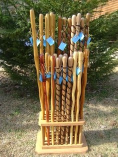 Handmade Hiking Sticks