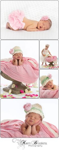 Aubrée Grace's #Newborn #Pictures #Photography #kerribrookinsphotography @Kerri Brookins