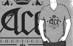 Ace, Sheffield Tee - Straight Up Emblem £18.48