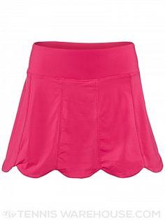 Fila Women's Fall Heritage Scalloped Hem Skirt