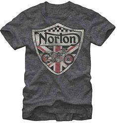 @Breanna Newbill Norton @Rachel Norton Check this out :) Norton Motorcycles Tee