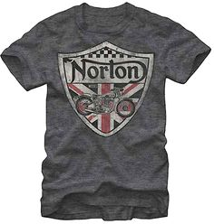 @Breanna Newbill Newbill Norton @Rachel Norton Check this out :) Norton Motorcycles Tee