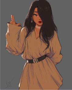 Ideas for pop art ilustration retro comics girls Art Anime Fille, Anime Art Girl, Anime Guys, Cute Art Styles, Cartoon Art Styles, Cartoon Girl Drawing, Girl Cartoon, Comic Drawing, Comic Kunst