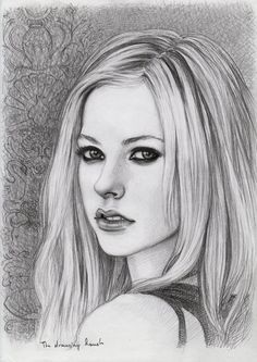 Avril Lavigne by thedrawinghands on deviantART