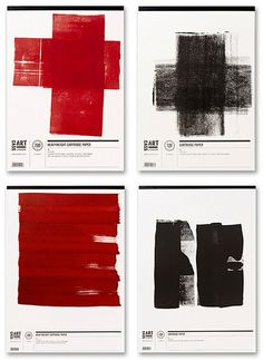 The clean, minimal layout of the Cass Art packaging allows the stock and the paint medium to express the quality of the product