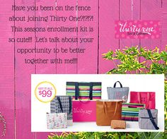 Thirty One Spring/Summer Opportunity.