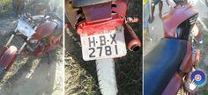 Polícia prende moto com placa trocada em Cumuruxatiba