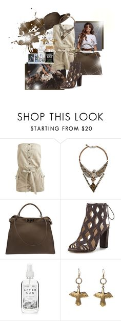 """""""Young wild and free."""" by brook-s18 ❤ liked on Polyvore featuring H&M, Wet Seal, Phenix, Fendi, Alexandre Birman, KEEP ME, Herbivore, Alkemie, Miss Selfridge and selenagomez"""