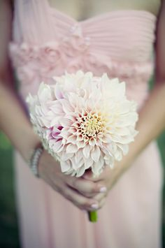 Dahlia Bouquet - simple yet beautiful