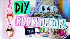 DIY room decor! :) #diy #diyprojects #diyroomdecor room decor for teens! cheap DIY ideas!
