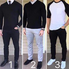 "6,947 Likes, 152 Comments - Gentlemen Be Like (@gentbelike) on Instagram: ""1, 2 or 3? Choose one! 😎 Courtesy of @chrismehan"""