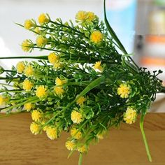 New 1 Branch Small Artificial Plants Grass Fake Floral Plastic Silk Eucalyptus Flowers For Hotel Wedding Table Decor Hanging Plants Outdoor, Fake Plants Decor, Big Plants, Plant Decor, Plants Indoor, Artificial Garden Plants, Artificial Plant Wall, Artificial Flowers, Cool Ideas