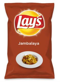 Wouldn't Jambalaya be yummy as a chip? Lay's Do Us A Flavor is back, and the search is on for the yummiest flavor idea. Create a flavor, choose a chip and you could win $1 million! https://www.dousaflavor.com See Rules.