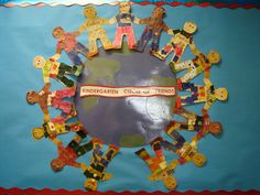 back to school bulletin boards Creative Bulletin Boards, Kindergarten Bulletin Boards, Back To School Bulletin Boards, Kindergarten Art, Multicultural Classroom, Primary Classroom, Classroom Themes, Future Classroom, Classroom Organisation