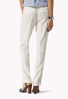 Cotton Linen Stretch Pant
