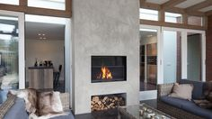 840BR Outdoor Fireplace