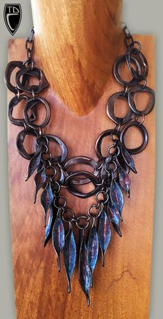 Todd Conover, Pod Neck Piece, 2016 copper, enamel