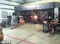 Morean Arts Center- check out the art and see a glassblowing demo.