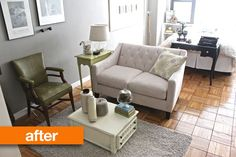 Some Ideas. Before & After: Samna Transforms a Studio in 5 Days Studio Apartment Layout, Dream Apartment, Apartment Interior, Apartment Design, Apartment Living, Apartment Therapy, Studio Apt, Apartment Ideas, Houston Apartment