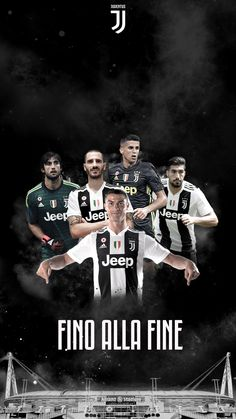 Juventus New Season Football Poster Fino Alla Fine Juventus Team, Juventus Soccer, Cr7 Ronaldo, Cristiano Ronaldo, Messi, Juventus Wallpapers, E Sport, Football Wallpaper, Football Players