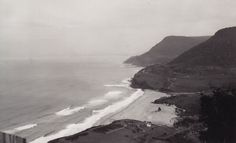 Stanwell Park Wollongong, possibly from Bald Hill 1931 [RAHS Photograph Collection] Vintage Photos, Public, Windows, Park, History, Water, Travel, Outdoor, Photograph