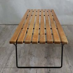 Bertoia Bench For Florence And Hans Knoll 1952. No.: HB 359
