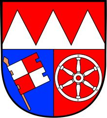 Lower Franconia Coat of Arms.Is one of the three administrative regions of Franconia in Bavaria, Germany. The district was formed in 1817 under the name of Untermainkreis (Lower Main District) and renamed in 1837 as Unterfranken und Aschaffenburg (Lower Franconia and Aschaffenburg). In 1933 the regional Nazi Gauleiter Otto Hellmuth insisted on renaming t