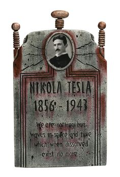Create your own graveyard with our collection of tombstone decorations for Halloween. We have a variety of tombstone designs that include celtic crosses, RIP, lights and more. Tesla Coil, Tesla S, Nikola Tesla Patents, Thomas Alva Edison, Nicola Tesla, Tesla Quotes, Secrets Of The Universe, Quantum Physics, Science