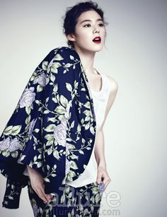 Jung Eun Jae - Allure Magazine March Issue '13