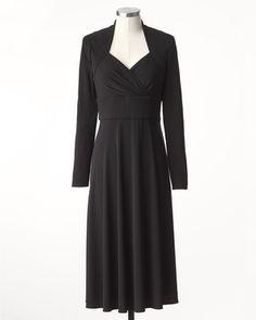 Coldwater Creek Sweetheart black dress