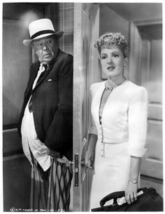 "The More the Merrier: Joel McCrea, Charles Coburn, and Jean Arthur - great movie for which ""Walk, Don't Run"" starring Cary Grant was a remake. Description from pinterest.com. I searched for this on bing.com/images"