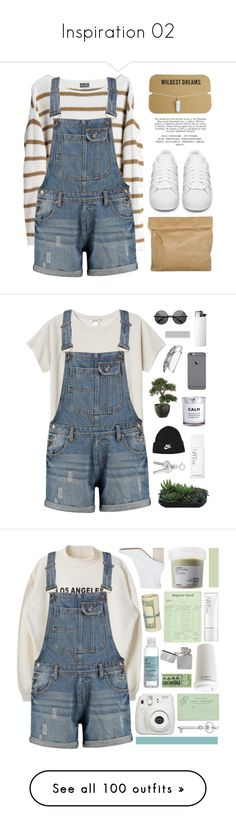 """""""Inspiration 02"""" by vicky-soleil ❤ liked on Polyvore featuring shorts, bottoms, pants, dresses, overalls, micro shorts, hot pants, overalls shorts, denim shorts and sequin shorts"""