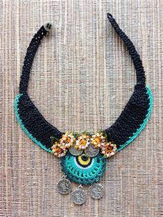 Etnik Kolye Turkuvaz - Etnik kolye - www.arassta.com'da satışta... Ethnic Jewelry, Diy Jewelry, Jewelery, Jewelry Necklaces, Handmade Jewelry, Beaded Necklace, Jewelry Making, Pendant Necklace, Bracelets