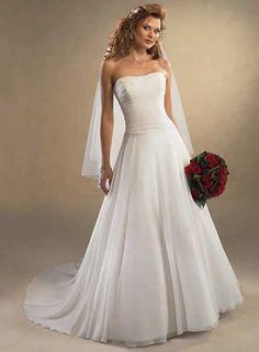 Vestidos de novia baratos - Bonmarier - Modelo HS0735