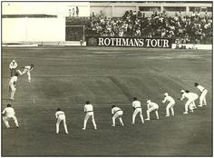 Nine slips for DK Lillee against New Zealand.