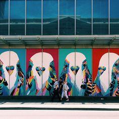 Anya Brock street art via a tactile life blog
