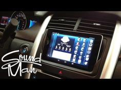 We've already seen how you can tear things apart and use some fancy wiring to install a Nexus 7 into the dash of a Dodge Ram, but some of us aren't interested in something that permanent. Also, some of us can't get permission from the wife, but that's another story. For us, the folks SoundMan Car Audioin Santa Clarita, CA. have a method that looks just as sleek, is removable, and involves no wiring or other permanent modification to your expensive vehicle.