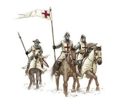 [WB][B] Crusader - Way to expiation Medieval World, Medieval Knight, Medieval Armor, Military Art, Military History, Knight Orders, Crusader Knight, Military Orders, Templer