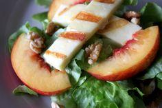 Haloumi and Nectarine Salad