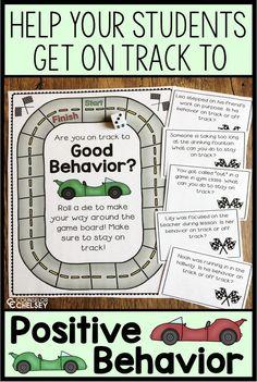 Positive Behavior Game For Behavior Lessons And Small Groups Positive Behavior Chart, Positive Behavior Management, Behavior Rewards, Classroom Management, Social Skills Activities, Counseling Activities, School Counseling, Good Listening Skills, Behavior Interventions