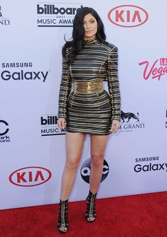 Wearing Balmain at the Billboard Music Awards in Los Angeles.   - ELLE.com