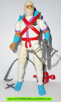 RAMBO action figures WHITE DRAGON NINJA 1986 coleco vintage force of freedom